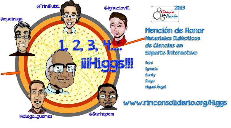1, 2, 3, 4… ¡¡¡Higgs!!! sigue cosechando premios
